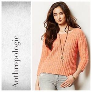 Anthro Sunstitch Pullover By Knitted & Kni…